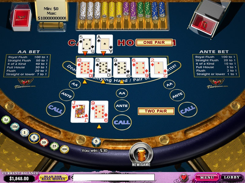 casino holdem strategie